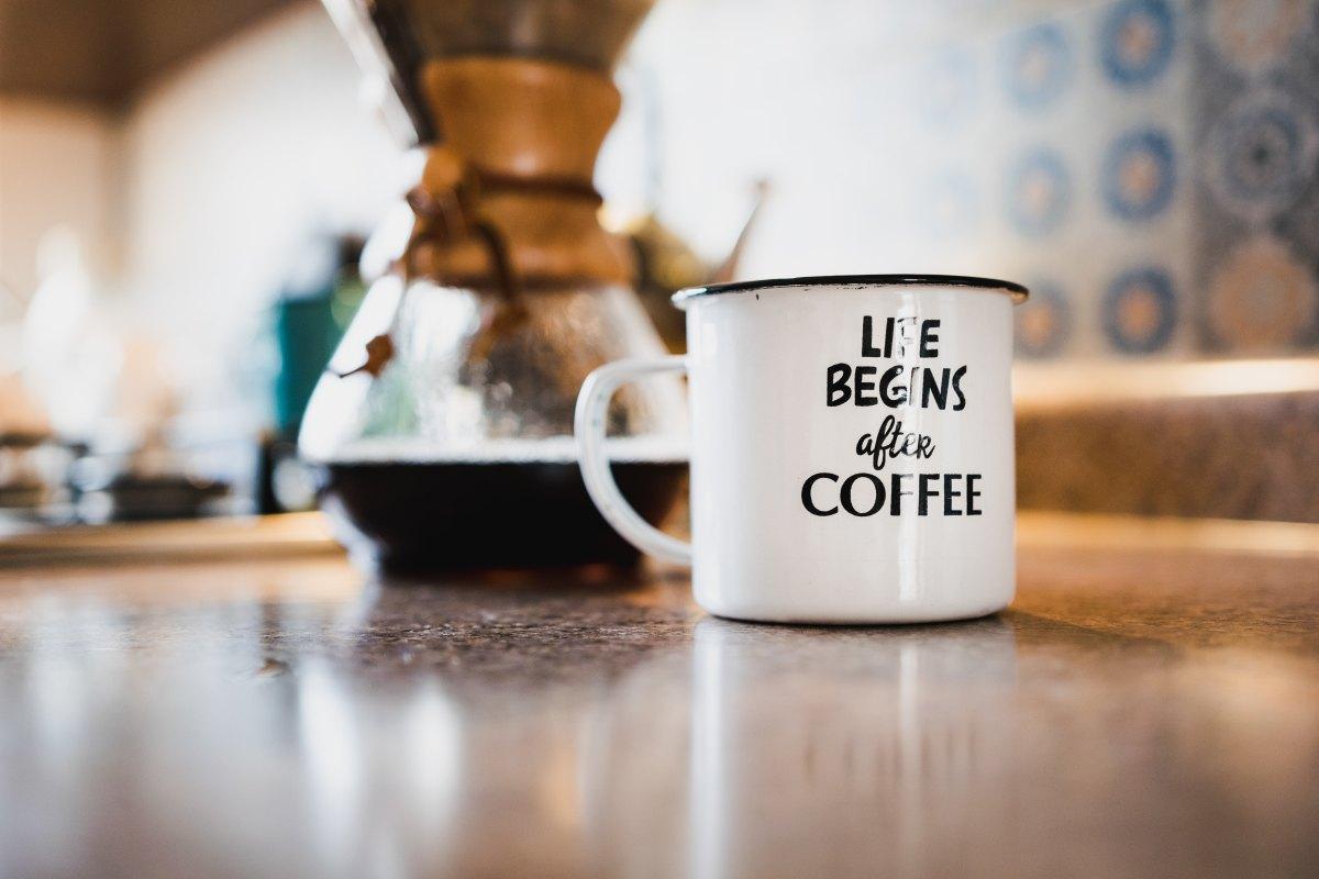 Dzień dobry wiosno! Potrzebna mi była mocna kawa.